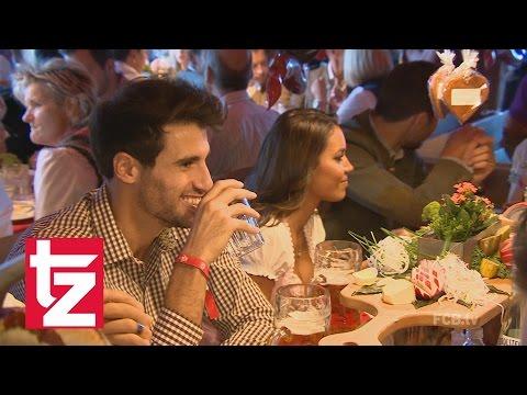 Der FC Bayern auf der Wiesn: Javi Martinez verhängt Alkoholverbot!