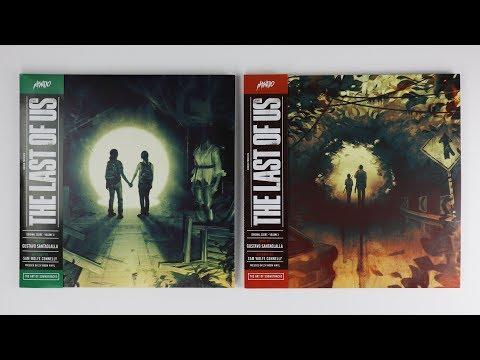 The Last Of Us: Original Score - Volume One & Volume Two 2XLP ASMR Unboxing