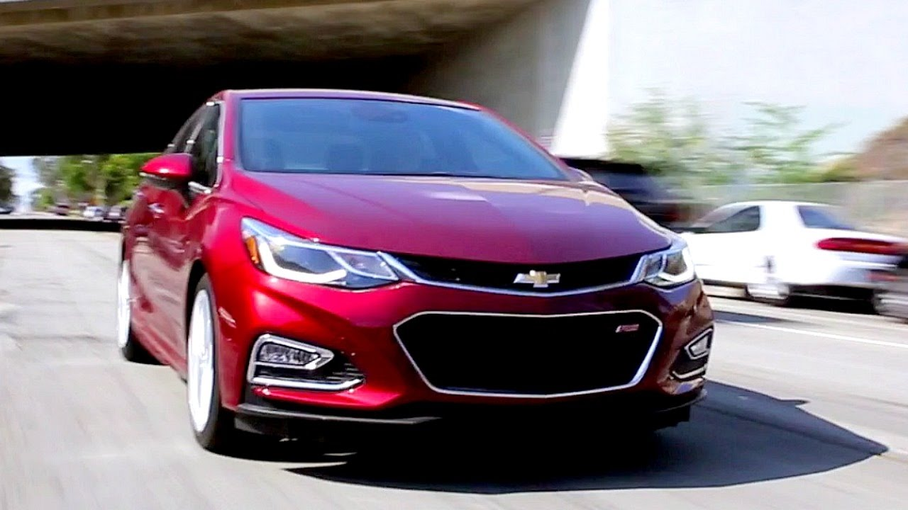 2017 Chevrolet Cruze - Review and Road Test - YouTube