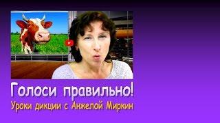 Уроки дикции с Анжелой Миркин: Голоси правильно!