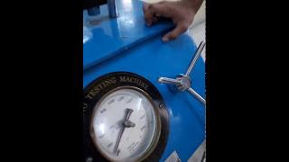 Spring Testing Machine Paractical