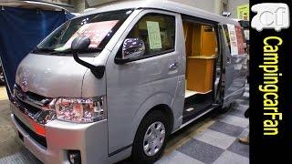 【北斗】ふたり旅を想定した2段ベッドのハイエースバンコン Japanese camper van based on Toyota Hiace