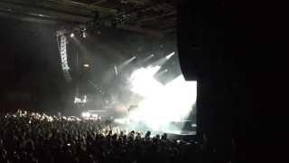 Biffy Clyro live @ Hamburg Sporthalle 02.12.2013 first 2 minutes