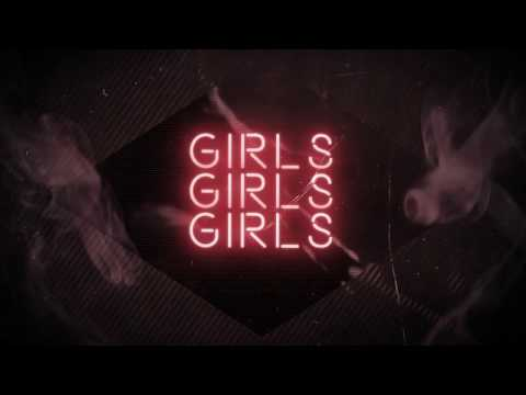Mötley Crüe - Girls Girls Girls (Lyric Video 2017)