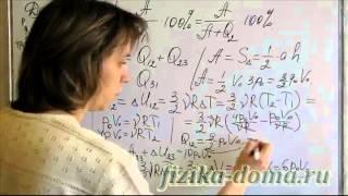 Определение КПД замкнутого цикла