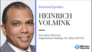 Millennium Fellowship Webinar Series - Heinrich Volmink #MillenniumWebinars