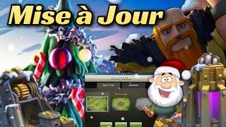 Attaques Full Géants Niveau 7-Achats des nouveautés de la Mise à Jour de Noël Clash of Clans