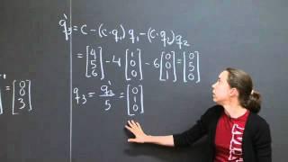 Gram-Schmidt Orthogonalization   MIT 18.06SC Linear Algebra, Fall 2011
