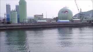 宇和島新内港に行ってみた