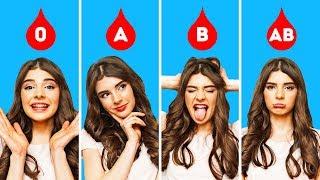 血液型別性格診断