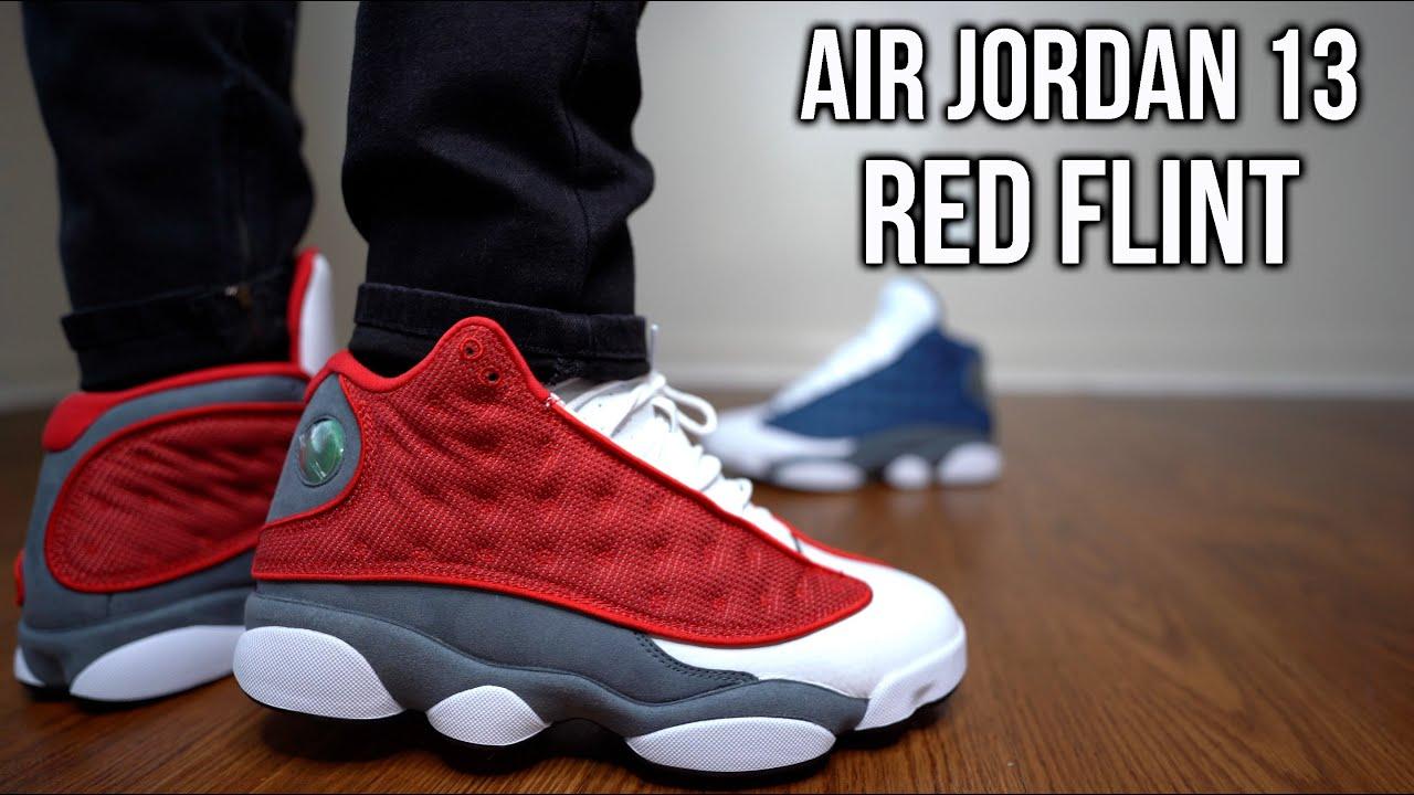 AIR JORDAN 13 RETRO 'RED FLINT'