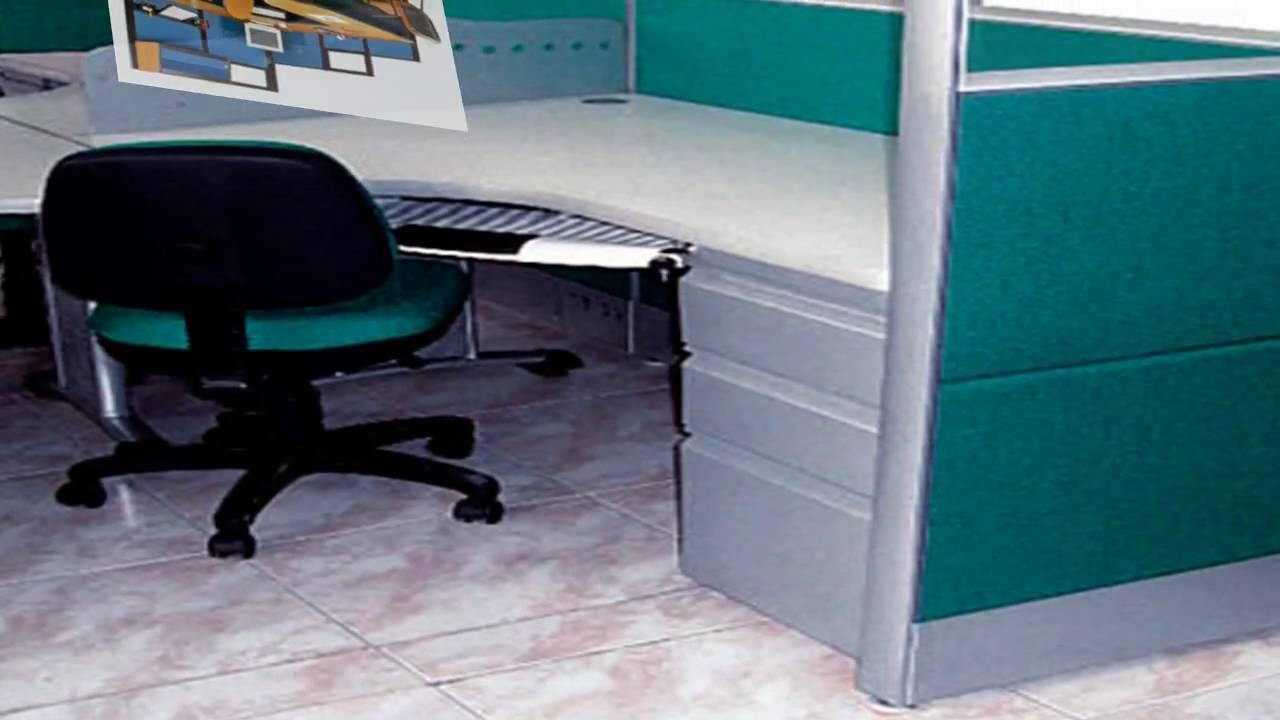 Oficinas modulares oficina abierta youtube for Sillones ejecutivos para oficina