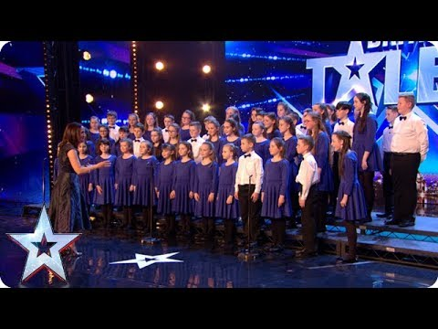 Love Willy Wonka? Step into a world of pure imagination with STUNNING choir! | Auditions | BGT 2018