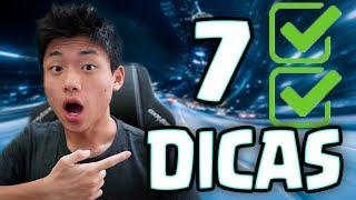 DICAS PARA OS 7 MAIORES ERROS AO SUBIR TROFEUS NO CLASH ROYALE
