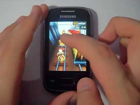Subway Surfers on Galaxy Pocket S3500 (GPU Test)