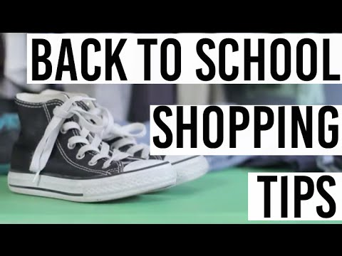 Mini Style Hacker's Back To School Shopping Tips