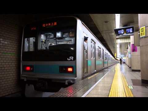 JR209系千代田線霞ヶ関発着/JR 209 Series at Kasumigaseki/2014.07.23