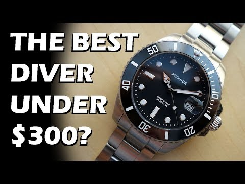 Phoibos Great White Diver's 300M Review (PY007C) - The BEST Dive Watch Under $300? - Perth WAtch #75