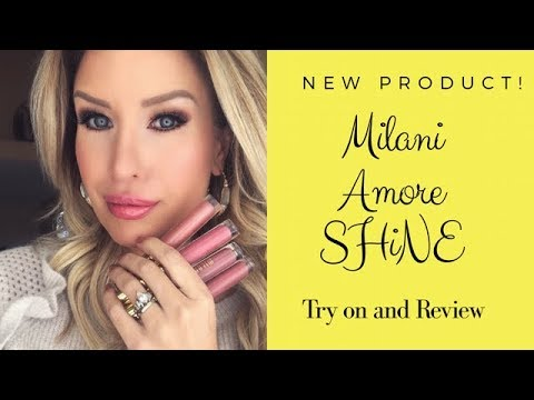 New! MILANI AMORE SHINE Liquid Lip Color | Best Affordable Gloss Ever???