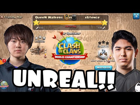 Most INSANE War In HISTORY! Queen Walkers Vs X6tence | ESL World Championship PreQual Clash Of Clans