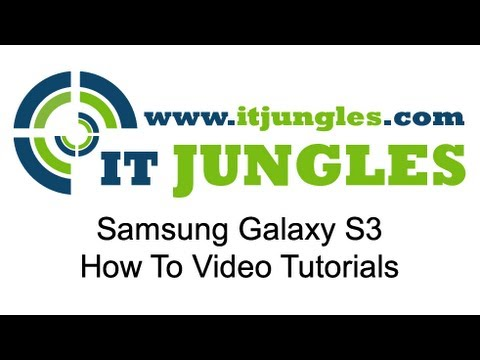 Samsung Galaxy S3: How to Delete SMS Text Message Template