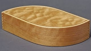 Making A Wooden Wave Box Part 1, Bent Laminations: Andrew Pitts ~ Furnituremaker