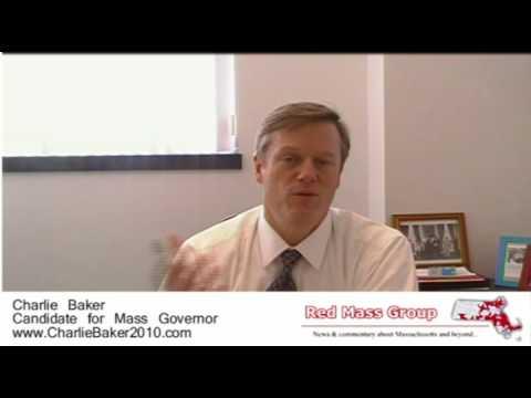 Charlie Baker Interview 1 27 10