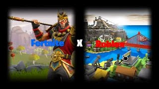 Fortnite x Roblox Montage