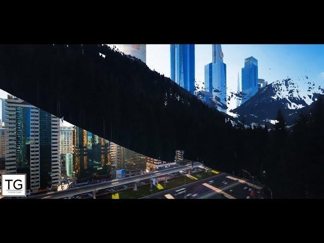After Effects Tutorial  - Luma key Transition 2017