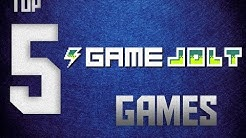 Top 5 Gamejolt Games (Free indie games)!