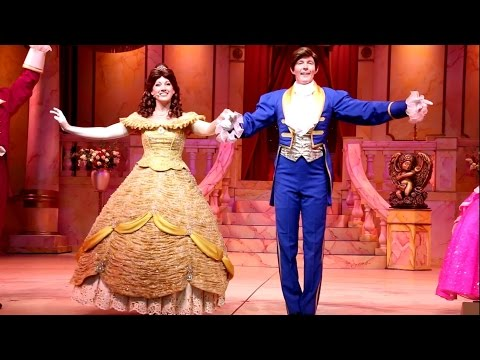 FULL HD Beauty And The Beast Musical - Live at Disney
