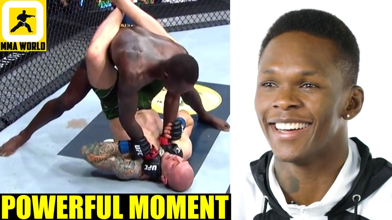 It was at this moment I knew Marvin Vettori's soul left his body-Israel Adesanya, Moreno, Nate Diaz