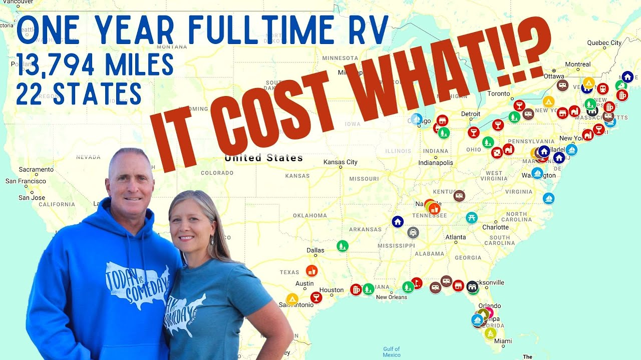 One Year Full Time RV Living Cost (SO WORTH IT)
