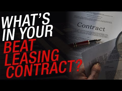 The Problem with Beat Leasing Contracts: Lease vs Exclusive Rights, Royalties, Limits...