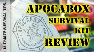 NEW! ApocaBox Subscription Based Survival Kit - REVIEW - Does it Rock or Reak? You Decide... thumbnail
