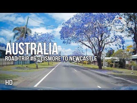 Road Trip Australia | East Coast - Part 6 - Lismore, Grafton To Newcastle NSW [1080HD]