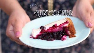 Como Fazer NY Style Cheesecake