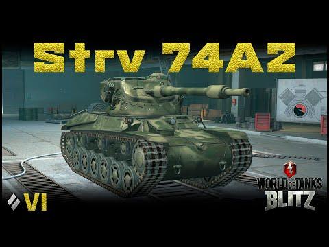 Обзор Strv 74A2 [WoT Blitz 6.9]