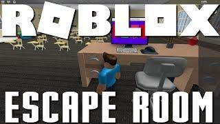 Roblox Escape Room - I Hate Mondays, and School Escape!