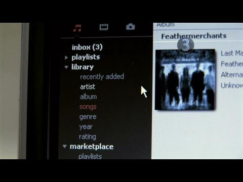 How To Access The Zune Software's Music Library