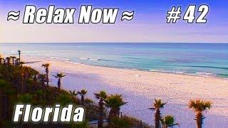 BEST PANAMA CITY BEACH Sunnyside #42 Florida Beaches Ocean Waves Panhandle relaxing video relax