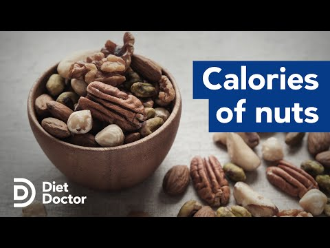 Nuts have fewer calories than we thought