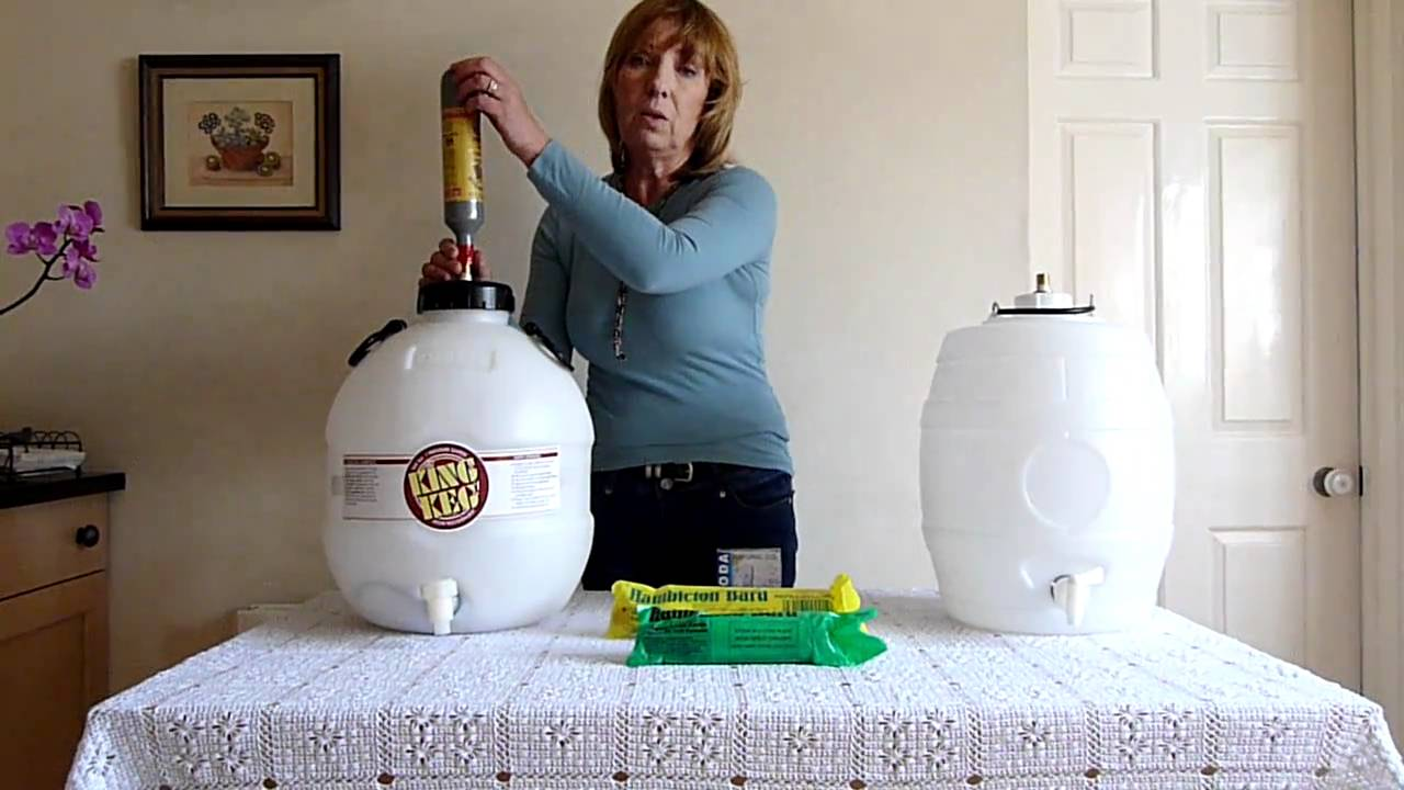 Whytes Home Wine Co2 System For Beer Barrels Youtube