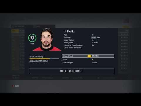 "Ottawa Senators Franchise Mode #16 ""Big Acquisitions"" NHL 17"