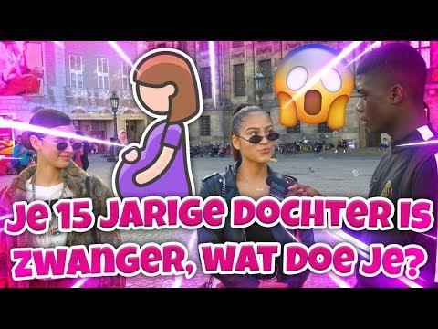 JE DOCHTER IS 15 ZE IS ZWANGER WAT DOE JE? - AMSTERDAM