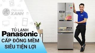 Tủ lạnh Panasonic 322 lít NR-BC369XSVN - Ngăn cấp đông mềm tiện lợi | Điện Máy XANH