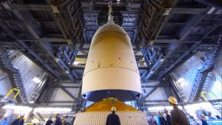 Orion Mated to the Delta IV Rocket