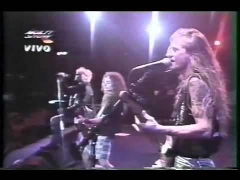 Mike Starr R.I.P.  Rock In Rio 1993 part 1