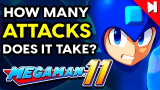 How Many Attacks Does it Take to Beat Mega Man 11? | Skip the Tutorial