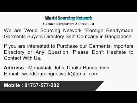 Garments Buyer List